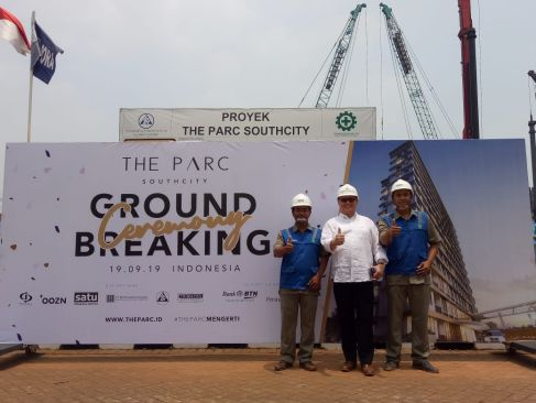On Going Project The Parc Southcity Apartment 2 tps1